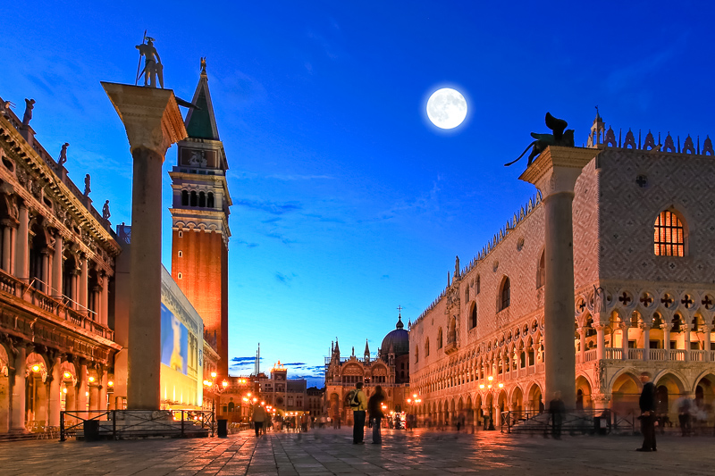 St. Mark's Square: only 800 meters far!